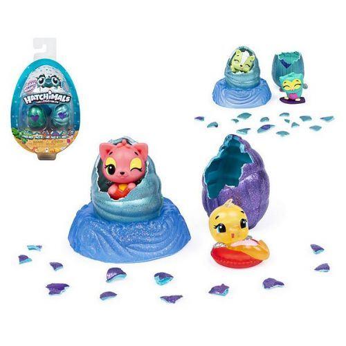 œuf magique à faire éclore Hatchimals Magic Mermaids Bizak (2 uds)