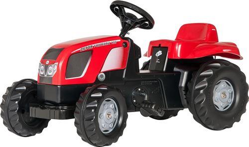 Rolly Toys tracteur escalier RollyKid Zetor Forterra 135 rouge junior