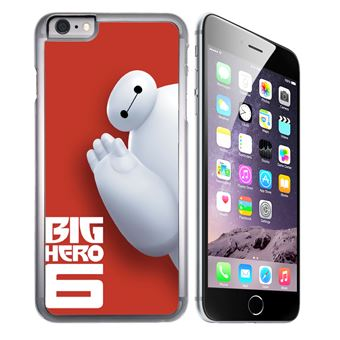 Coque pour iPhone 8 PLUS baymax coucou