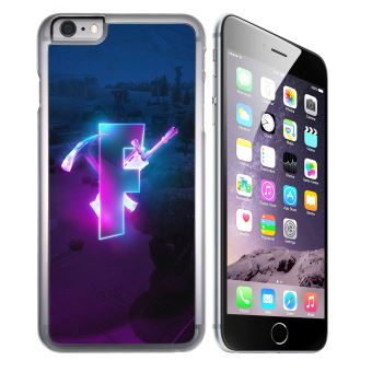 Coque pour iPhone 7 fortnite logo glow