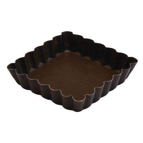 Moule à tartelette carré 10 cm - Gobel - Moule patisserie antiadhérent