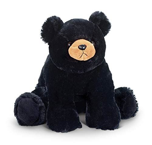 Bearington Bandit Plush Stuffed Animal Black Bear Teddy, 18