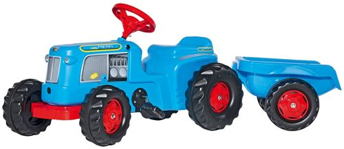 Rolly Toys Tracteur à pédales RollyKiddy Classic bleu