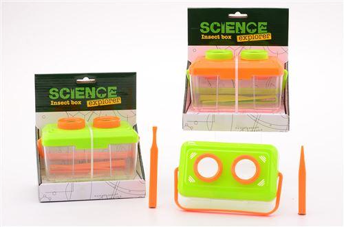 Bac à insectes Science Explorer avec 2 accessoires