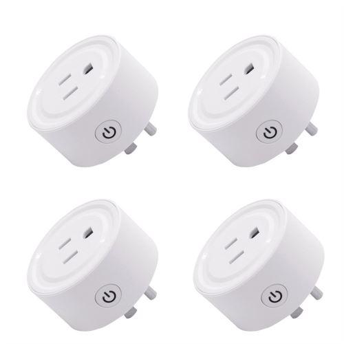 Smart WiFi Prise d'alimentation US Plug commutateur pour Amazon Alexa / Accueil Google App contrôle Uia305