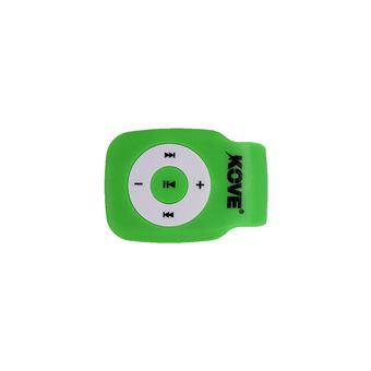 Kove K-MP3K117VE Lecteur MP3 Vert
