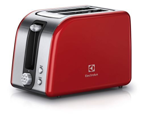 Electrolux eat7700r 2slice (s) 850 W Rouge, Argent – Grille-pain (2 Slice (s), rouge, argent, en plastique, acier inoxydable, 850 W, 220 – 240 V, 181 mm)