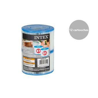 12 Filtres Pour Spa Gonflable Intex Accessoires Piscines Spa