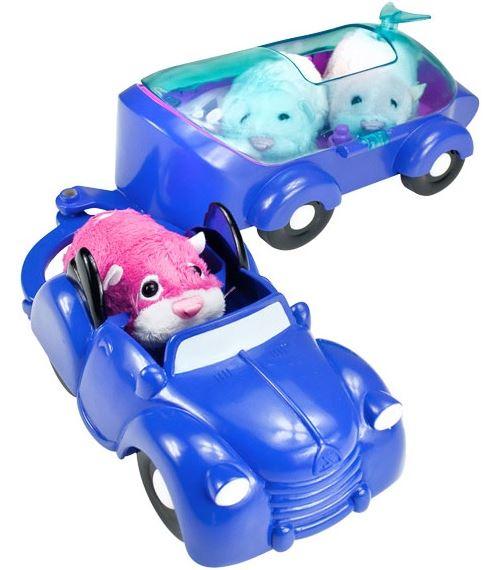 Giochi preziosi - 81114 - zhu zhu pets en vacances - voiture avec remorque - hamster vendu séparément