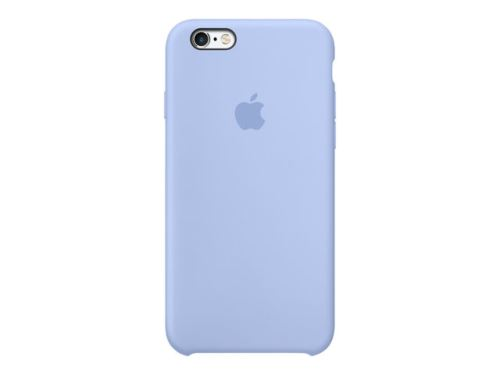 Coque en silicone Apple pour iPhone 6s Lilas