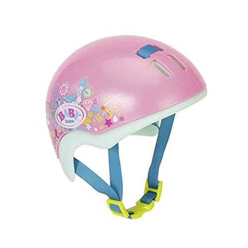 Zapf Creation 827215 Casque de vélo Play & Fun pour poupée BABY born 43 cm