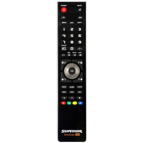 télécommande de remplacement pour toshiba ct-90344 [tv + regza]-