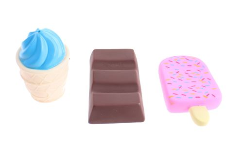 Toi-Toys jouets de bain sucreries en 3 parties
