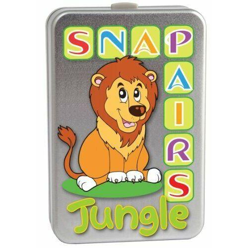 Cartes Snap and Pairs - Jungle