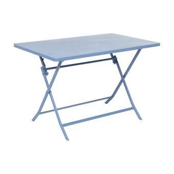 Table pliante rectangulaire Greensboro - 4 Places - Bleuet