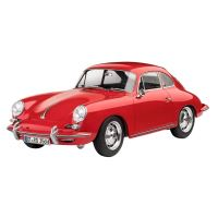 Maquette Revell Porsche 356 Coupe 1:16 Rouge