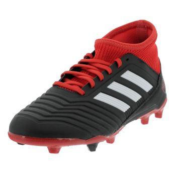 best website fc3b5 75711 Chaussures football lamelles Adidas Predator 18.3 fg jr Noir taille   37 1 3  réf   36196 - Chaussures et chaussons de sport - Achat   prix   fnac