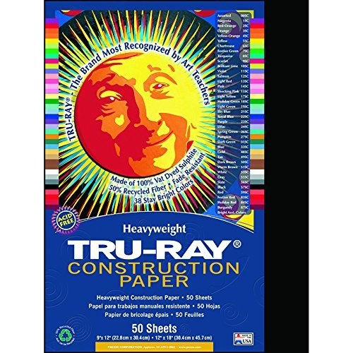 PAC103029 - Papier de construction Pacon Tru-Ray