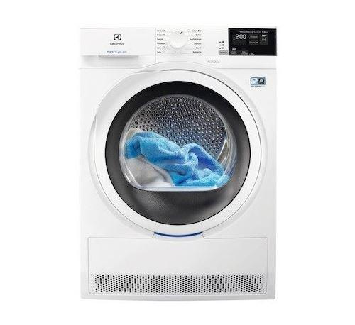 Sèche-linge pompe à chaleur - Ouverture frontale - 8kg - Blanc