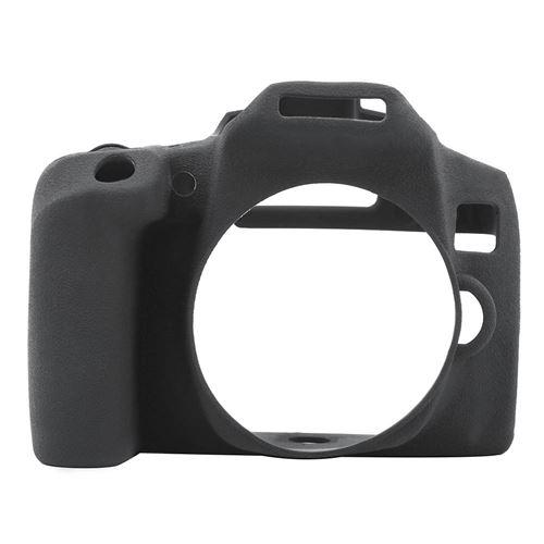Housse de protection en silicone pour Canon 850D - Noir
