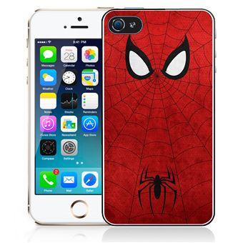 Coque pour iPhone SE spiderman art design