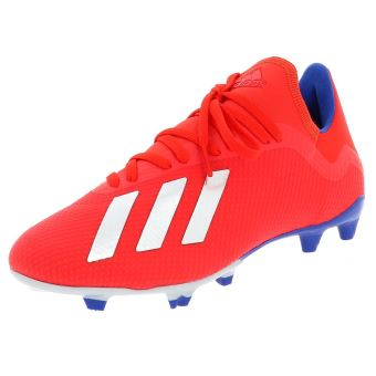 Chaussures football lamelles Adidas X 18.3 fg rge/roy/jne Rouge taille : 44 réf : 41799