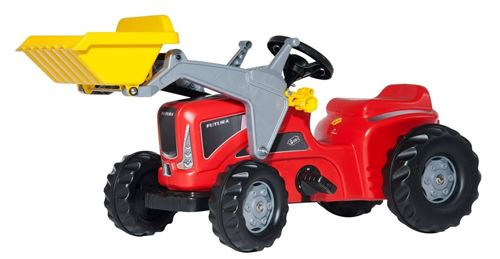 Rolly Toys Tracteur à pédales RollyKiddy Futura rouge