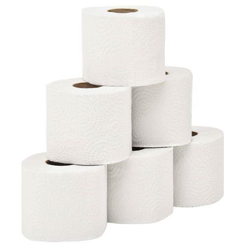 vidaXL Papier hygiénique gaufré 2 couches 128 rouleaux 250 feuilles