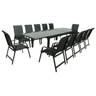 salon table12 200320 12 phoenix noir 1 jardin de porto fauteuils extensible HWD92IE