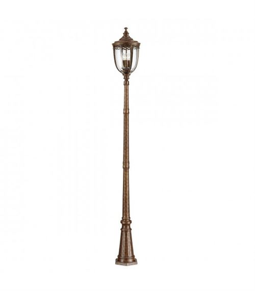 Lampadaire English Bridle, bronze, grand