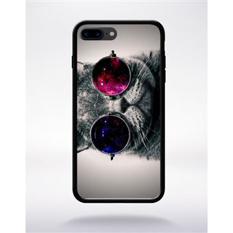 iphone 7 plus coque chat