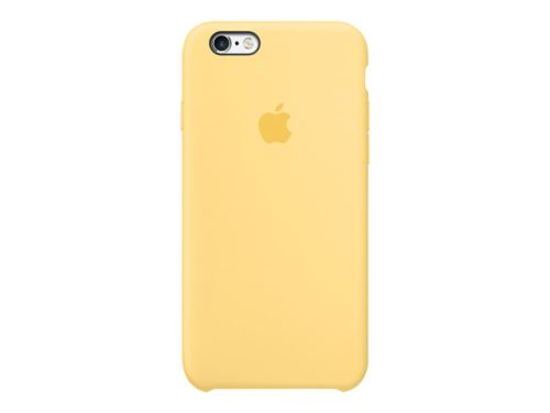 Coque en silicone Apple pour iPhone 6s Jaune