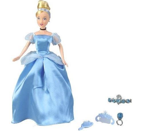 Simba - disney princesses - poupee - cendrillon + accessoires