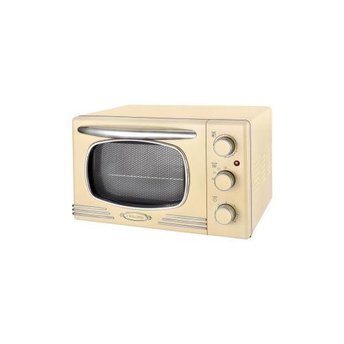 Kaloric Ot2500 - Mini Four - 19,5 L - 1300 W - Minuterie 60 Min - Design Retro Creme