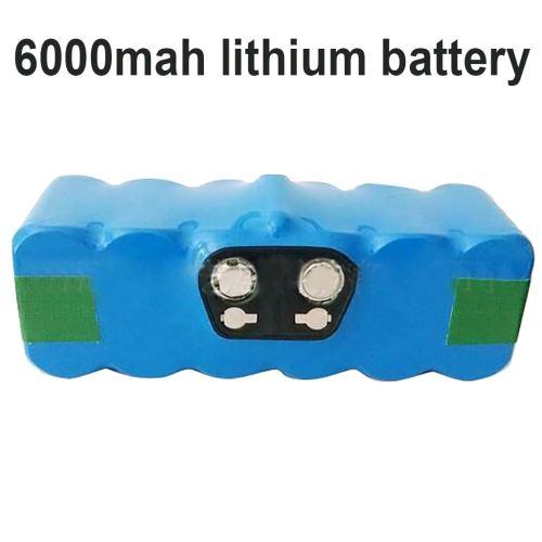 14.4V 6000Mah Accessoires Batterie pour Irobot 500 600 700 Aspirateur Wenaxibe389