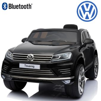 4x4 suv petite voiture lectrique enfant b b touareg 12 volts volkswagen pack luxe bluetooth. Black Bedroom Furniture Sets. Home Design Ideas