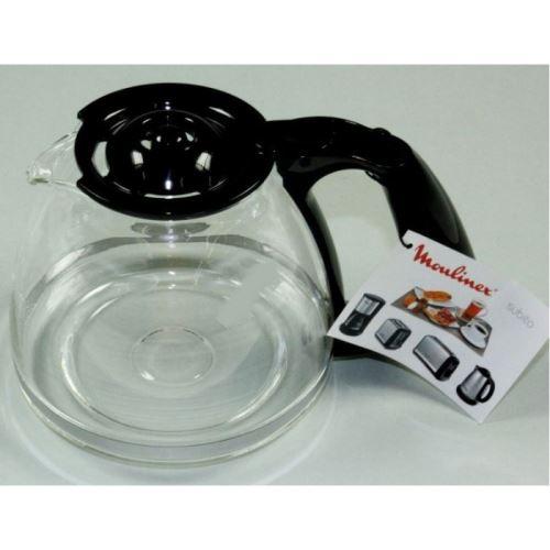 Verseuse + couvercle noir pour cafetière à filtre moulinex