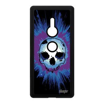 Coque Sony Xperia Xz2 Silicone Tete De Mort Swag Gothique