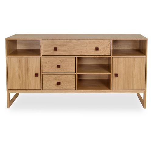 Buffet en bois avec tiroirs