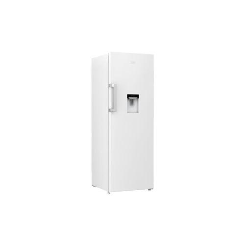 Beko - Rsse415m23dw - Refrigerateur 1 Porte - 359l - Froid Statique - Distributeur Deau - A+ - L59,5 X H171,4cm - Blanc