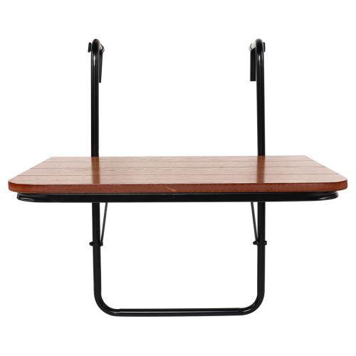 Balcon Table suspendue haute qualité Support en fer Table de jardin