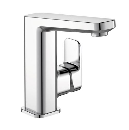 Ideal Standard - Mitigeur lavabo chromé Tonic II avec tirette et vidage métal 135mm