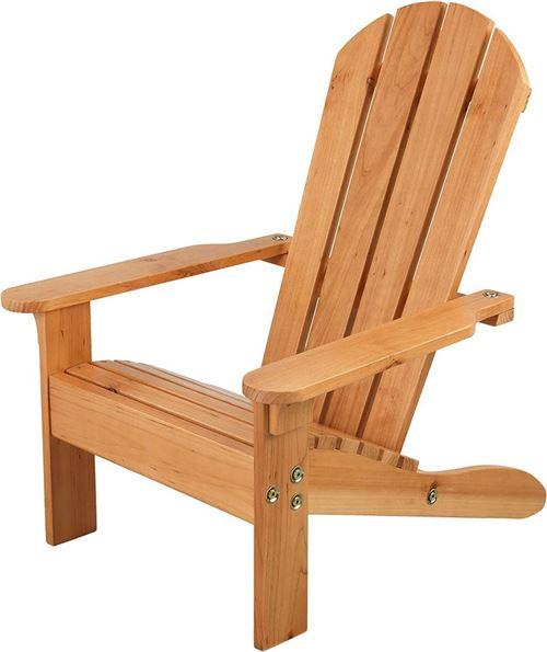 Kidkraft - Chaise de jardin enfant en bois Adirondack