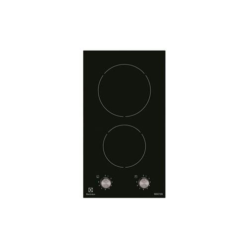 Electrolux Inspiration EHH3920BVK - Table de cuisson à induction - 2 plaques de cuisson - Niche - largeur : 27 cm - profondeur : 49 cm - noir