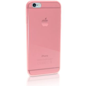 coque iphone 6 transparente rose