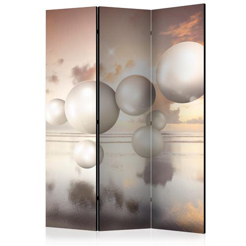 Paris Prix - Paravent 3 Volets morning Jewels 135x172cm