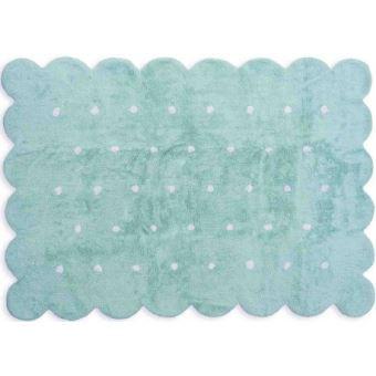 ARATEXTIL TAPIS POUR CHAMBRE ENFANT 100% Coton Vert menthe - Motif ...