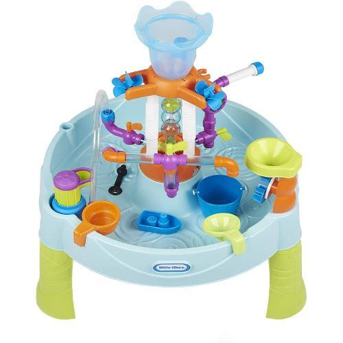 Little Tikes 650666M - Flowin' Fun Une table d'eau robuste avec des éléments interchangeables