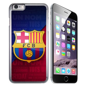 Coque pour iPhone 6 Plus et iPhone 6S Plus football fc barcelone logo