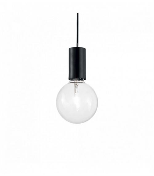 Suspension Noire HUGO 1 ampoule
